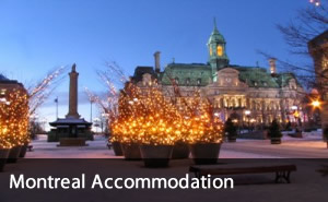 Accommodation in Montreal