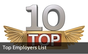 Top employers in canada