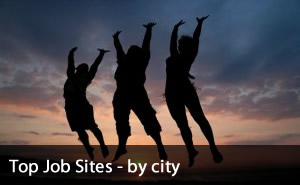 Top Job Sites by city