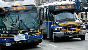 Buses in Vancouver