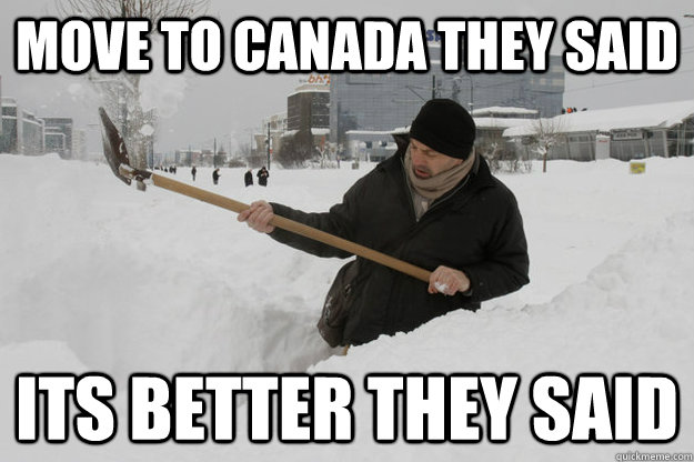 A meme about Canada