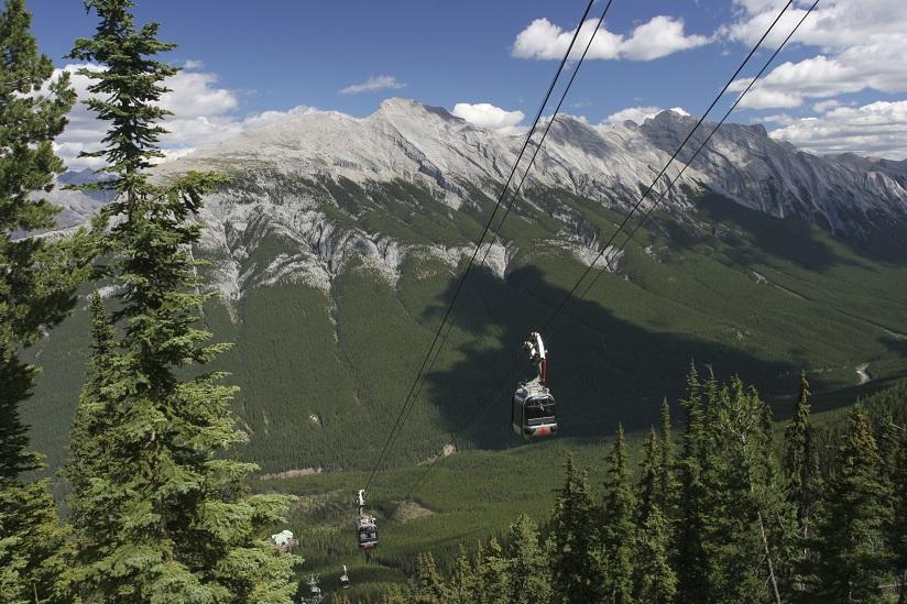 Sulphur Mountain Gondolas, Banff National Park