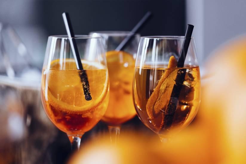 Aperitif spritz drinks