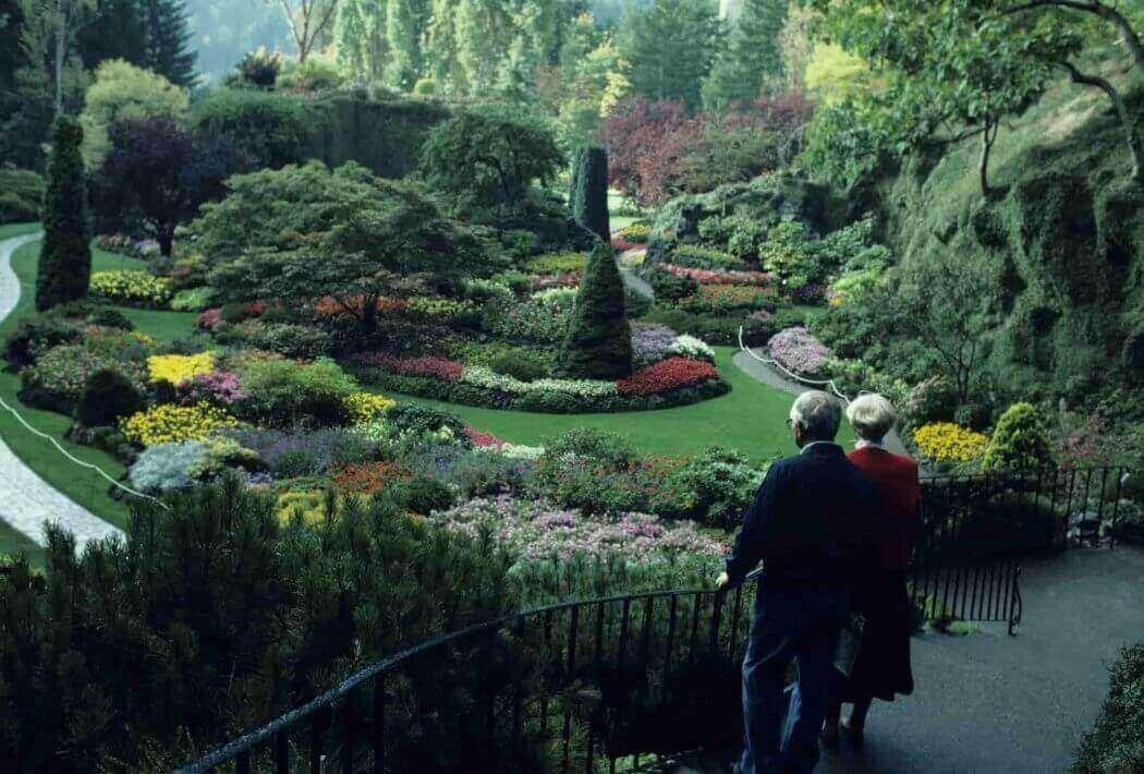 Butchart Gardens, Victoria, BC. Canada