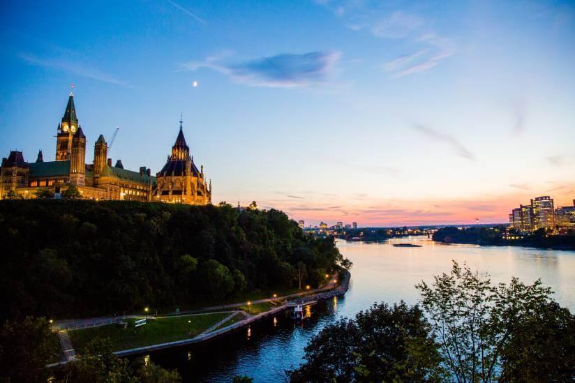 Parliament Hill, Ottawa. Canada
