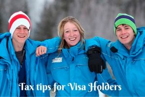 Tax tips for visa holders