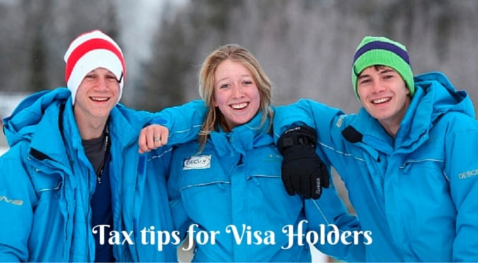 Tax tips for visa holders