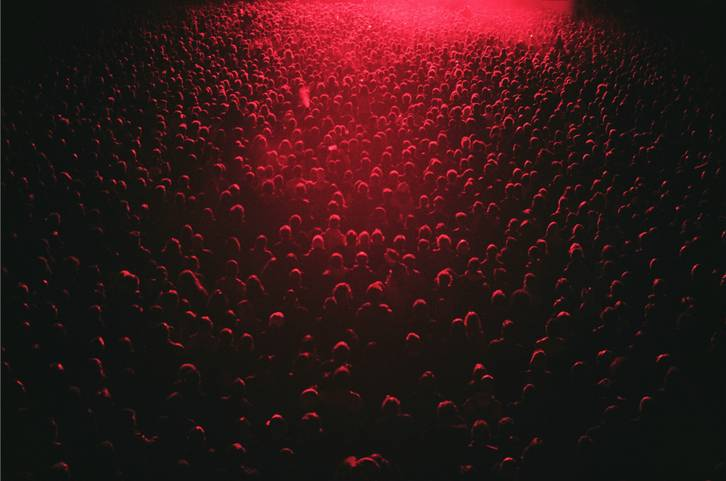 Red Lit Festival Crowd
