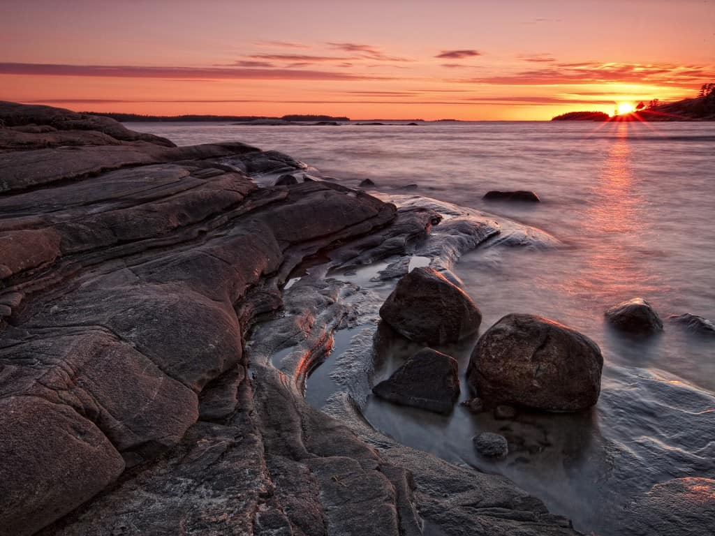 sunset_over_georgian_bay__killbear_provincial_park__ontario