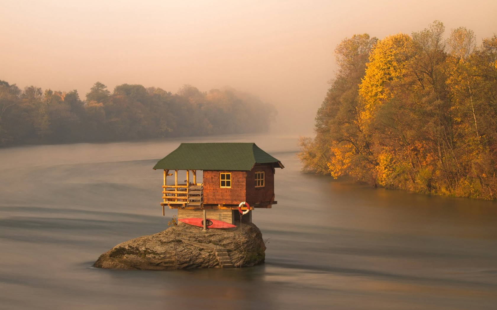 864584-cabin-forests-lakes-landscapes-nature-rocks-water
