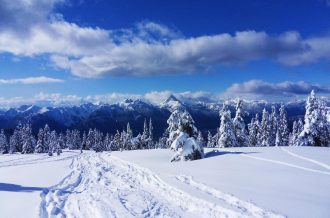 snowshoeing locations in British Columbia