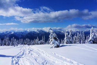 snowshoeing locations in British Columbia