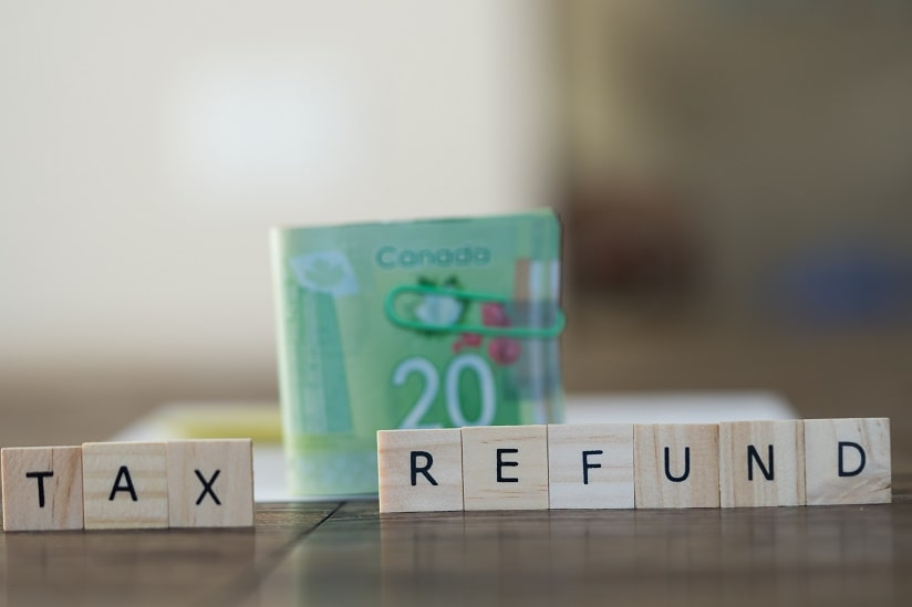 Canadian tax refunds