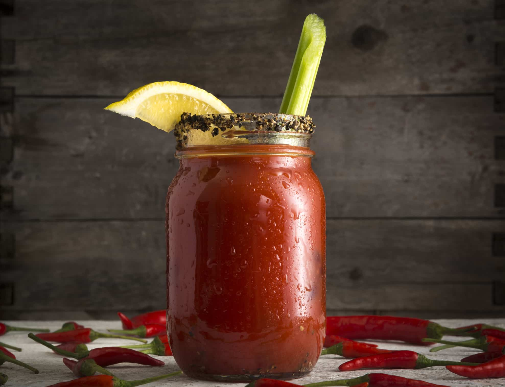 Traditional Canadian Caesar Cocktail
