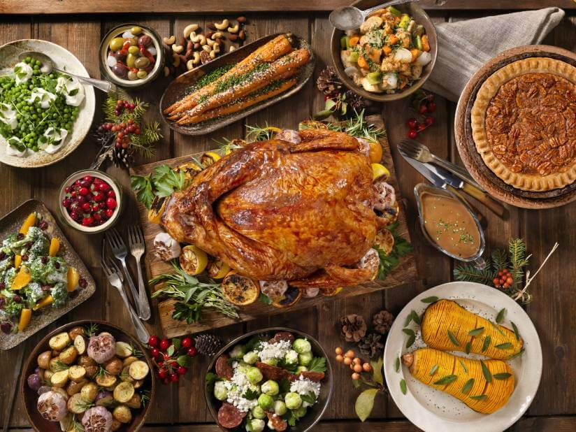 Canadian Traditional Dinner Turkey