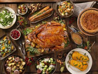 Traditional Cuisine Turkey Dinner