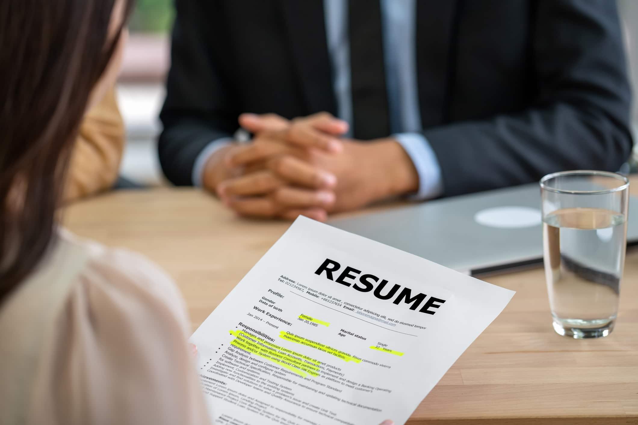 Canadian Job application tips