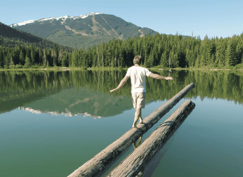 Lost Lake, Whistler, British Columbia