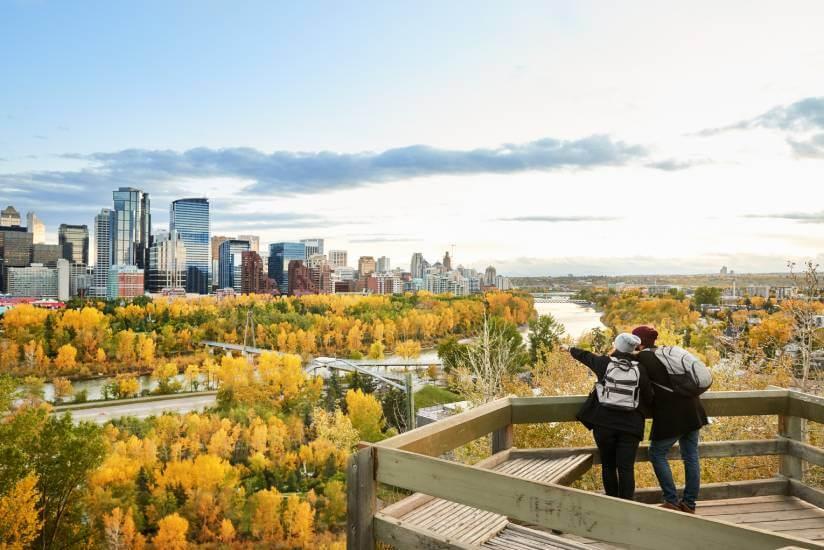 Couple in Calgary