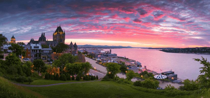 Quebec Downtown, Canada