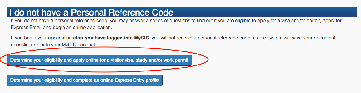 STEP 1: Applying for a 2016 Working Holiday Visa